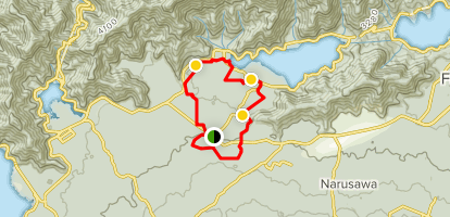Four Cave Loop Map