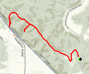 Hart Creek Trail Map