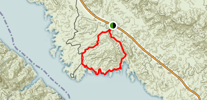 Red Canyon Map