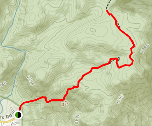 West Side Road Trail Map