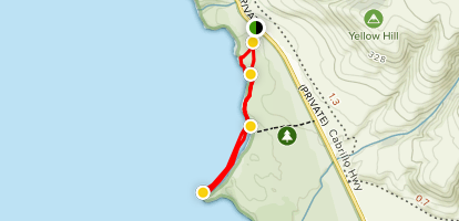 Point Sierra Nevada Trail Map