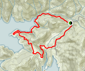 Waters Gulch Loop Trail Map