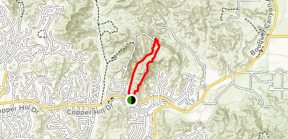 Haskell Canyon Open Space Map