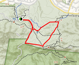 Old Boney and Wendy Connector Trail Loop Map