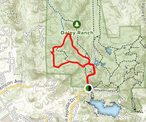 Boulder Loop Trail Map