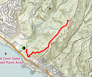 Moro Ridge Spur to Moro Ridge Road Map