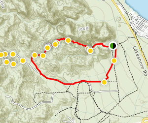 Seven Falls Canyon Loop Map