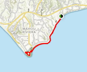 Paradise Cove to Point Dume Map