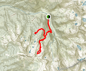 Eagle and Mosquito Lakes Map