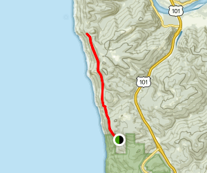 California Coastal Trail: Te-wo-lew Section Map