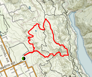 Willow Springs Trail to Harvey Bear Trail Loop Map