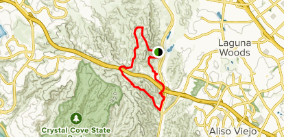 Little Sycamore Canyon, Serrano Ridge, Upper Laurel, Laurel Canyon and Stagecoach South Loop Map