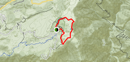 National Children's Forest to Slide Peak [PRIVATE PROPERTY] Map