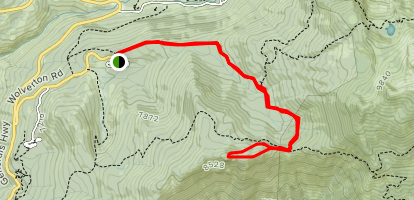 Panther Peaks Map