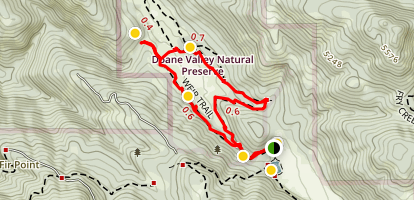 French Valley Trail Map