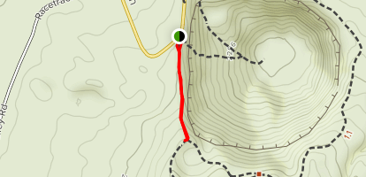 Ubeheh Crater Path Map