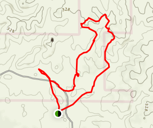 Deer Creek Hills Loop Map
