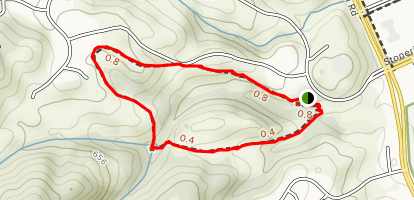 The Preserve Trail Map