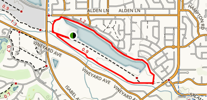 Arroyo Nature Walk Map