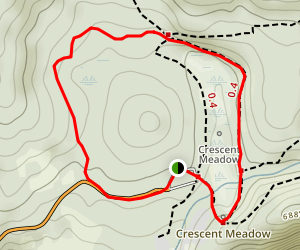 Crescent Meadow Loop Trail Map