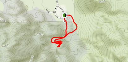 Corral Wall Trail Map