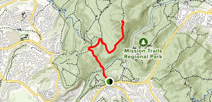 South Fortuna Mountain Trail Map