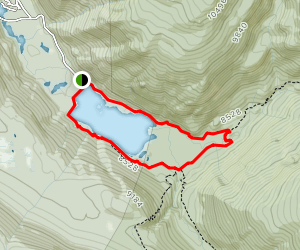 Monarch Lake Loop Trail Map
