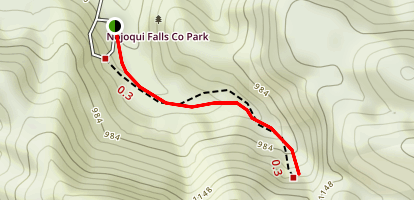 Nojoqui Falls County Park Trail Map
