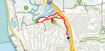 Annies Canyon Trail (Closed) Map