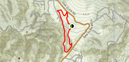Oak Glen Preserve Trails Map
