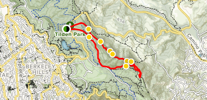 Seaview and Big Springs Trails Loop Map
