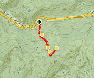 Loch Leven Lakes Trail Map