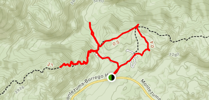 Culp Valley Overlook Trail Map