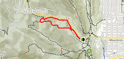 Sunshine Canyon Loop Map