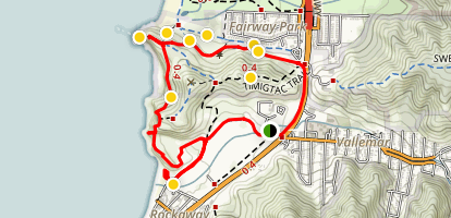 Mori Point Loop Trail Map