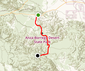 Pinyon Canyon Trail Map