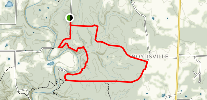 Smith Creek Loop Trail Map