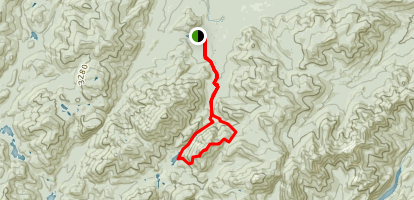 Mount Colden via Avalanche Pass Trail Map