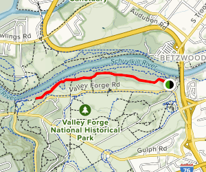 Chapel Trail Map