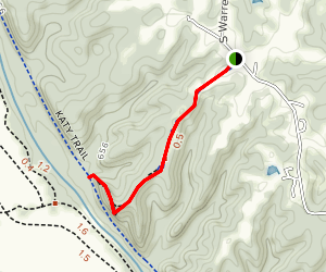 Eagle Bluffs Overlook Trail Map