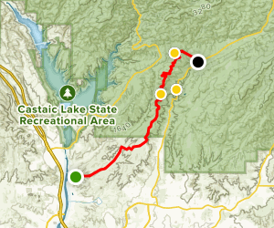 Tapia Canyon [PRIVATE PROPERTY] Map