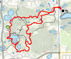 Wheaton Pond Loop Map