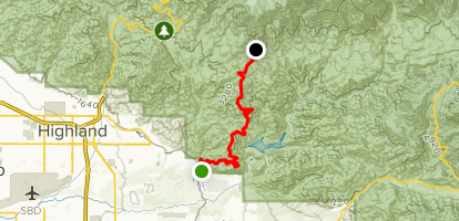 Santa Ana Fire Map.Santa Ana Divide Trail To Alder Creek Fire Road California Alltrails