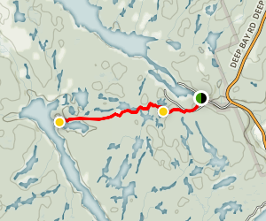 ganaraska trail to shelton lake map