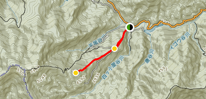 Miune East Trail Map