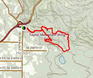 Taylor Mountain Loop Map