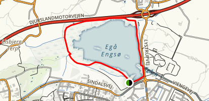 Egå Engsø Loop Map