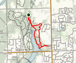 East Lake Trail Map