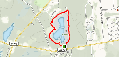 Egg Harbor Township Nature Reserve Loop Map