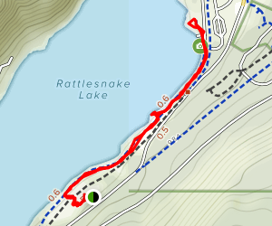 Rattlesnake Lake Trail Map